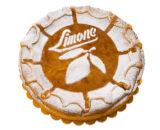 Crostata al limone pretagliata