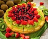 Crostata di frutta pretagliata