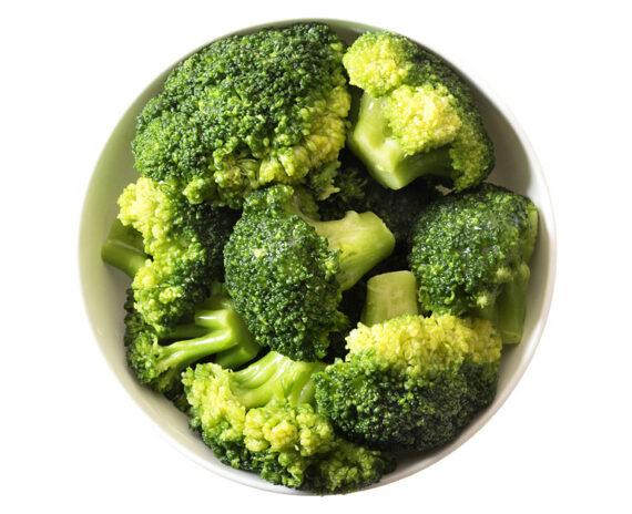 Porzione di broccoli
