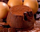 Soufflé al cioccolato monoporzione