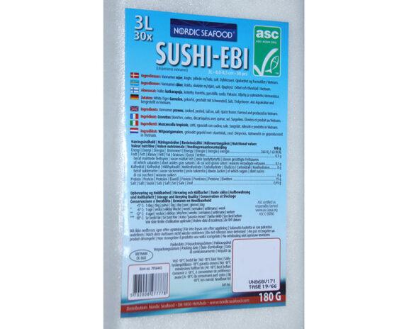 Sushi EBI Mazzancolle precotte confezione