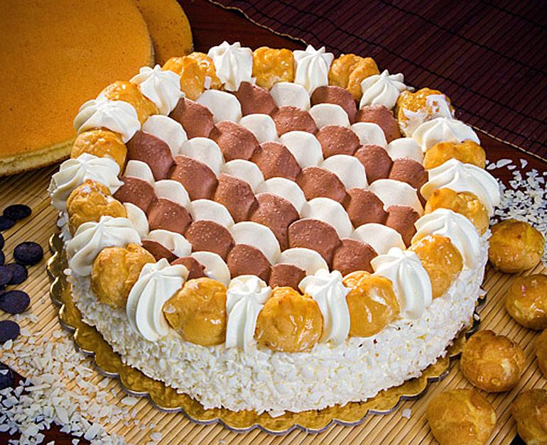 Torta semifreddo Saint Honore