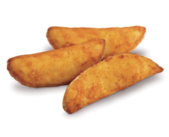 Patate spicchi aromatizzate con buccia