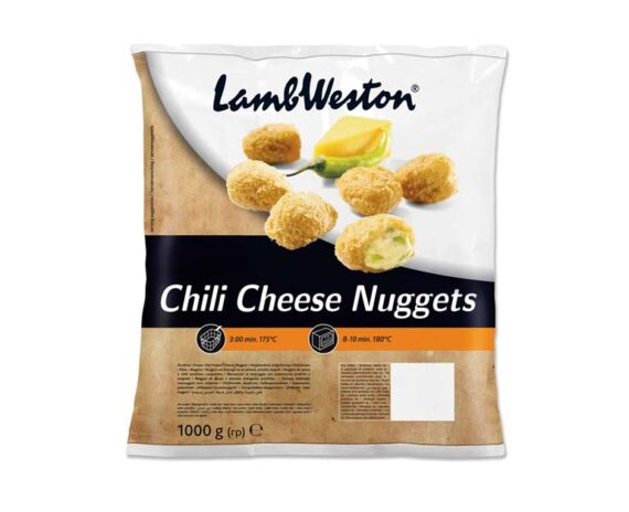 Chilil cheese nuggets