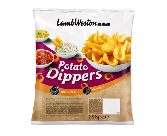 Busta patate Dippers 2,5kg
