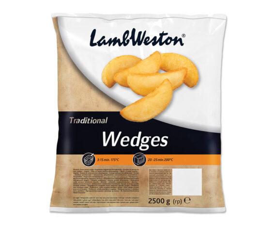 Busta patate spicchi 2500 gr