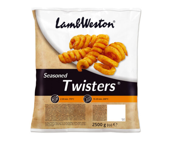 Busta patate Twisters aromatizzate 2,5kg