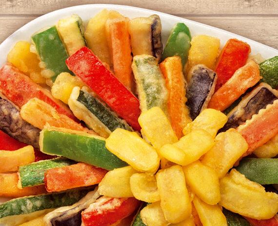 Fritto misto dell'orto - Verdure pastellate